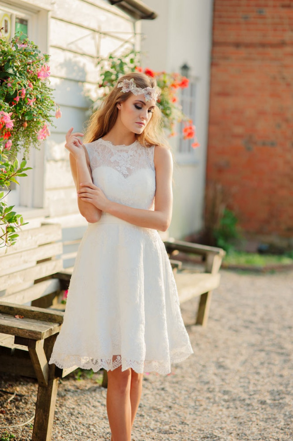 Kitty & Dulcie :: Summer Rose, a Cheap but Gorgeous Wedding Dress