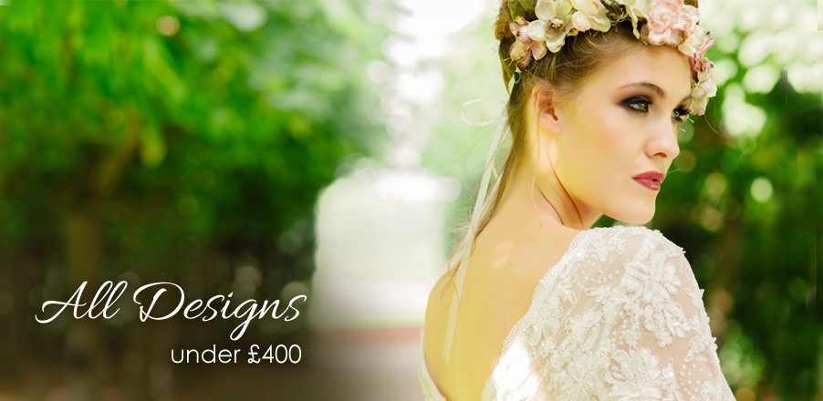 All wedding dresses under £400