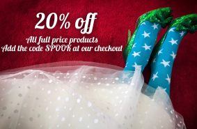 20% DISCOUNTS AT KITTY & DULCIE
