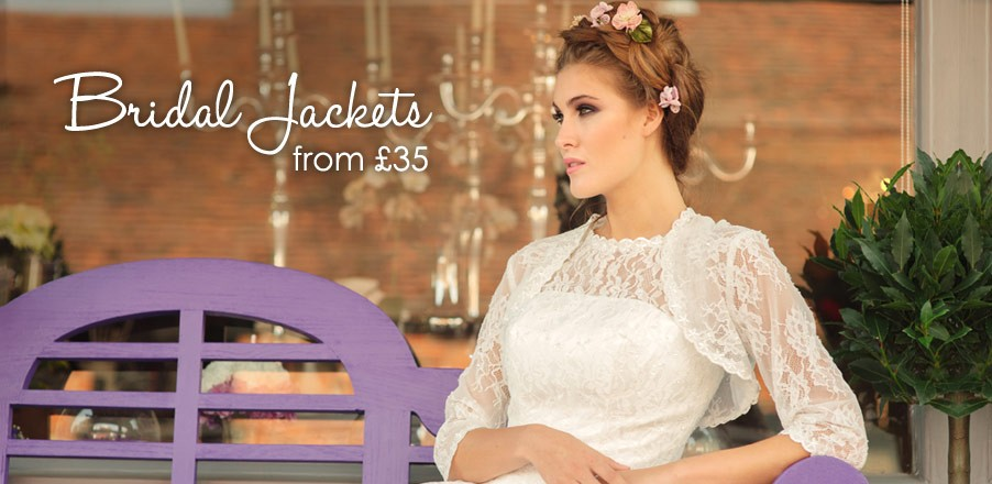 Bridal Jackets from £45