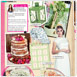 Wedding Ideas 'Chic On A Shoestring' - July 2014